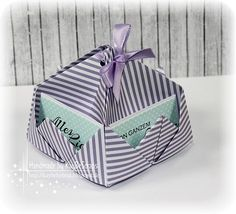 Gummiapan : Tutorial Happy B Day, Treat Bags, Origami, Stampin Up, Blog, Gift Wrapping, Cards, Boxes, Handmade