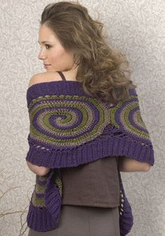 Easy-to-crochet Belize Wrap can liven up any outfit. It's also a great free easy pattern for all seasons, looking just as appropriate over a summer tank as it does over a heavy winter dress.
