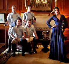 Backes & Strauss team with the Indian Vogue Cover girl Smitha Rao - Backes & Strauss was one of the official sponsors of the British Polo Day in Jodhpur, Rajastan - India - Discover more on www.backesandstrauss.com