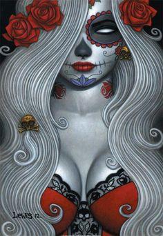 Lady Death Dia de los Muertos