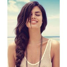 Sara Sampaio - Be Magazine -11 - GotCeleb ❤ liked on Polyvore featuring hair, people, models, faces and backgrounds