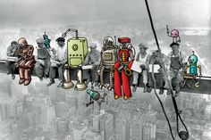 "Robot Workers: Coexistence Is Possible - via BusinessWeek ""This relentless march of automation is causing economic upheaval. As time goes on, companies will become more productive and more efficient, but the amount of human labor required will decrease and the pay will be less."""