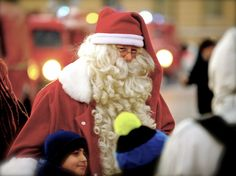 Santa Claus happines