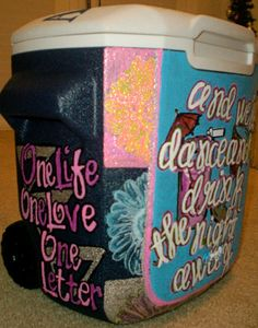 Tailgating coolers- great graduation present to someone going away to school