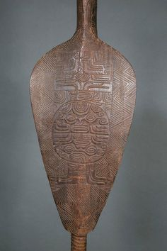 Very Rare Museum Quality Ceremonial Paddle, Marquesas Islands, French Polynesia 7
