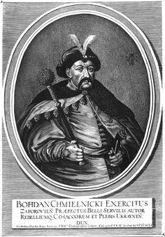 Богдан Хмельницький. Гравюра В. Гондіуса