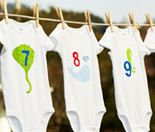 baby shower activity - each guest makes one for each month of the baby's first year