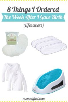 Things I Ordered the Week After I Gave Birth - Newborn Necessities New baby must. Things I Ordered the Week After I Gave Birth – Newborn Necessities New baby must haves baby regis Baby Must Haves, Baby Registry Must Haves, Baby Registry Items, New Born Must Haves, Baby Necessities, Baby Essentials, Baby Boys, 5 Weeks Pregnant, Preparing For Baby