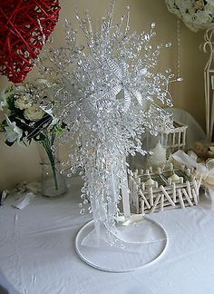 SaleArtificial wedding flowers brides clear Crystal/flower shower bouquet sale