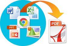 Come fare per convertire file Word, Excel, PowerPoint, Pagine Chrome, Firefox, internet Explorer e immagini in PDF