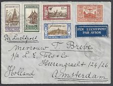 Netherland Indies 1931 Airmailcover TJIMAHI - Amsterdam