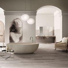 what an amazing bathroom. #arc #bathroom #art