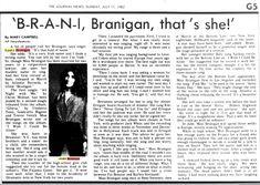 """Laura 1982, """"Branigan, that's she!"""""""