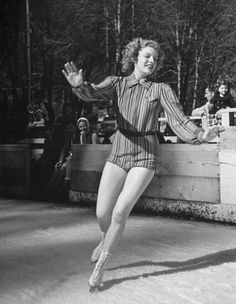 ice skating fashion 1939