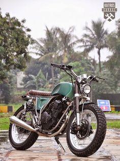 Yamaha Scorpio by Katros Motorcycles