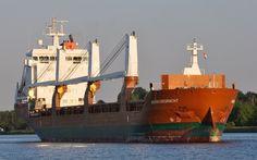 Vertrek uit thuishaven 10 juni 2015 op het Noordzeekanaal onderweg naar zee  http://koopvaardij.blogspot.nl/2015/06/vertrek-uit-thuishaven.html