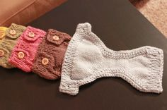 knitted diaper  covers