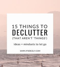 Decluttering your home is obviously a big part of embracing minimalism - but there's a *lot* more to it than cleaning out closets. Look at ideas & mindsets that allowed clutter in the first place, that which doesn't contribute value to your life. Without knowing this, the clutter habits will come right back. #simplify #minimalist