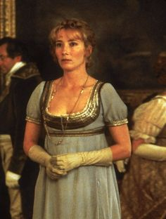 "Emma Thompson - ""Sense and Sensibility"" - Costume designers : Jenny Beavan & John Bright Emma Thompson, Jane Austen Movies, Ang Lee, Becoming Jane, Film D'animation, Cinema, Beautiful Costumes, Romance, Movie Costumes"