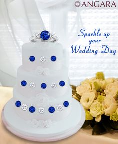 Sparkle up your wedding day with Angara Jewelry #Angara
