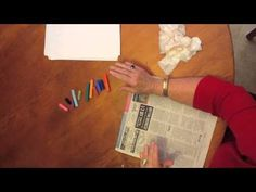 The Very Few Must Have Supplies for Chalk Pastel Art plus fall tree tutorial in less than 3 minutes www.hodgepodge.me