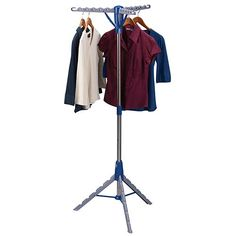 5. Household Essentials 5009-1 Tripod Clothes Drying Rack