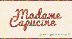 Madame Capucine - Patrons GRATUITS des années 70