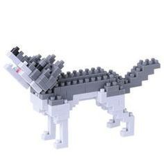 Nanoblock animal - Wolf NBC-144