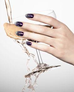NYE nails #NewYearsEve #2014 #Sephora