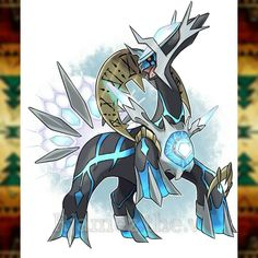 PRIMAL DIALGA type : Dragon/Steel by Rjamez.the.V