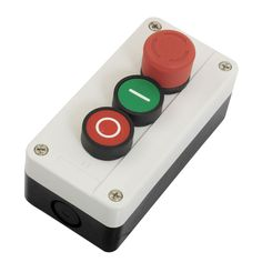 DHDL-NC Emergency Stop NO Red Green Push Button Switch Station 600V 10A #Affiliate