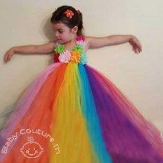 Rainbow Dreams Love Princess #Tutu Dress