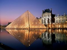 Musee De Louvre (The Louvre Art Museum) I've always wanted to go here. Not only is it in Paris, and truly breathtaking, I'd love to see the Mona Lisa, and also where it was stolen and found 4 years later!