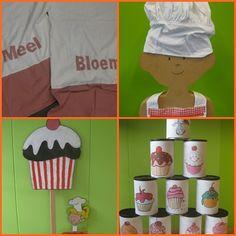 Thema koken Dramatic Play, Different Textures, Gingerbread Man, Diy And Crafts, Kindergarten, Blog, Cupcakes, Gaming, Seeds