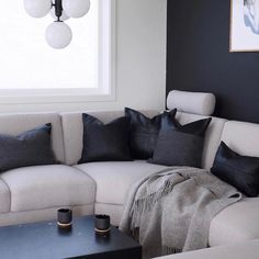 """Designerhome_norge on Instagram: """"Skinnputene fra @cominghomeas kommer i flere farger og varianter i den mykeste skinnkvalitet👌🏻 Utvalget finner du i nettbutikken…"""" Couch, Furniture, Home Decor, Settee, Decoration Home, Sofa, Room Decor, Home Furnishings, Sofas"""