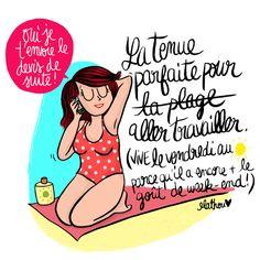 La vie de freelance en #télétravail : #autodérision :-) via @mathouv