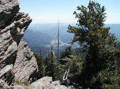 Chief Mountain near Mt. Evans.