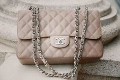 Chanel bag in blush. Gorgeous!