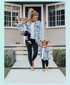 So cute little's fashion future mom, kids outfits, baby gir Fashion Kids, Baby Girl Fashion, Mommy Fashion, Babies Fashion, Toddler Fashion, Denim Fashion, Fall Fashion, Womens Fashion, Fashion Trends