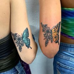If you and your best friend are looking for the perfect way to honor your friendship it s time to consider getting a matching tattoo Ahead we rounded up the cutest prettiest tattoo ideas that are perfect for best friends Dope Tattoos, Pretty Tattoos, Beautiful Tattoos, Small Tattoos, Wrist Tattoos, Tatoos, Flower Tattoos, Girl Tattoos, Styles Of Tattoos