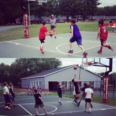 The lower camp boys are participating in basket ball leagues this morning. What great sportsmanship we have seen on the courts! #lovebasketball #leagues #atcamp #silverlaketalent