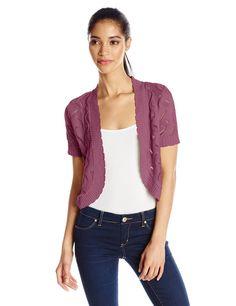 Jason Maxwell Women's Short-Sleeve Bolero >>> CONTINUE @ http://www.getit4me.org/fashion100/1066/?093