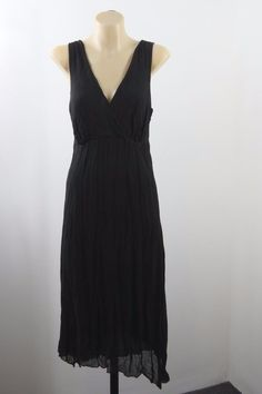 Size M 12 Jacqui E Ladies Black Dress Cocktail Gothic Wedding Evening Chic Style