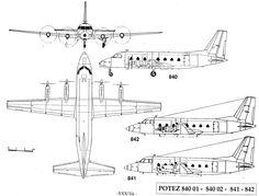 Potez 840 (1961) airliner prototype