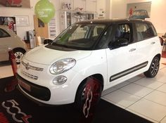 The Fiat 500L at Essex Fiat.