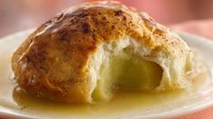 Sweet Apple Dumplings - made these tonight, took a little liberty with the recipe. They are awesome!