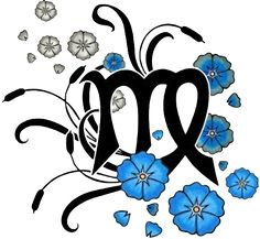 Virgo Tattoo Designs Are Symbolized By The Virgin Often Through A