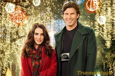 """Find out more about the Hallmark Channel movie """"Merry Matrimony,"""" starring Jessica Lowndes and Christopher Russell Hallmark Christmas Movies, Hallmark Movies, Hallmark Channel Schedule, Jessica Lowndes, Happy Stories, Abc Family, Romance Movies, I Movie, Actors & Actresses"""