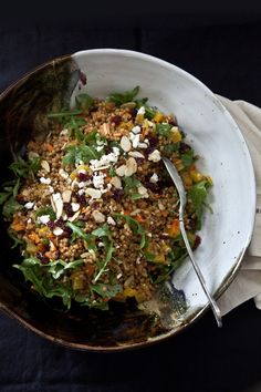Salad Series {post #1} Wheat Berry Salad and the Elusive Vinaigrette