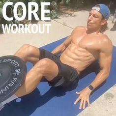 Abs And Cardio Workout, Gym Workouts For Men, Workout Routine For Men, Gym Workout Videos, Weight Training Workouts, Gym Workout For Beginners, Workout Bauch, Workout Programs, Exercise